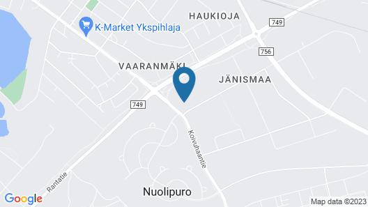 Hostel Racuna Map