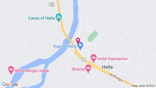 Hotel Hella Map