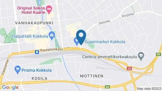 Hotelli Nukkumatti Map