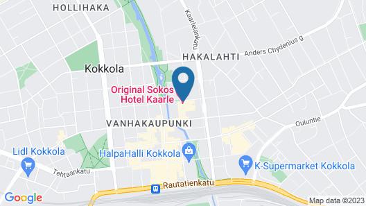 Original Sokos Hotel Kaarle Map