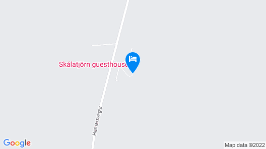 Skálatjörn Guesthouse Map