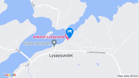 9 Person Holiday Home in Lysøysundet Map