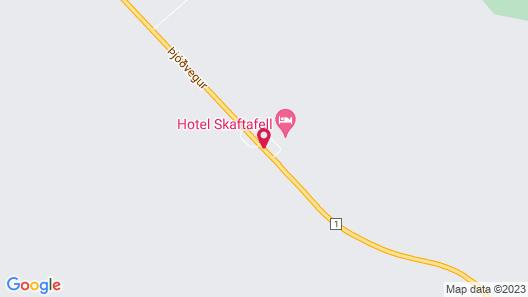 Hotel Skaftafell Map