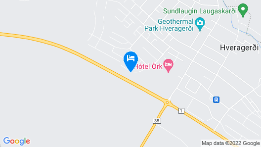 Hotel Örk Map