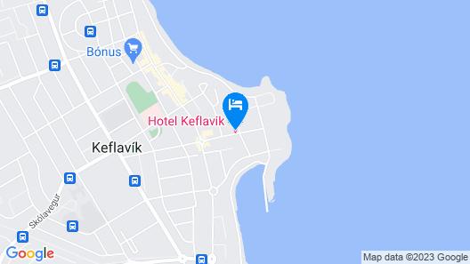 Hotel Keflavik Map