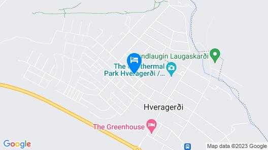 Reykjadalur Guesthouse Map