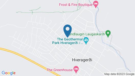 SKYR Guesthouse Map