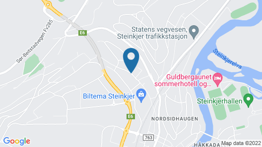 Best Western Tingvold Park Hotel Map