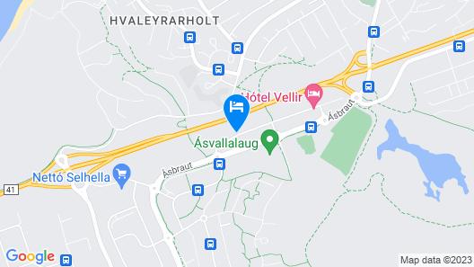 Hotel Vellir Map