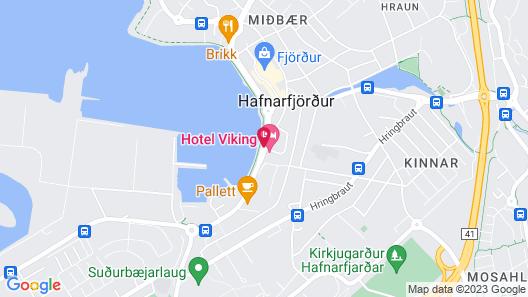 Hotel Viking Map
