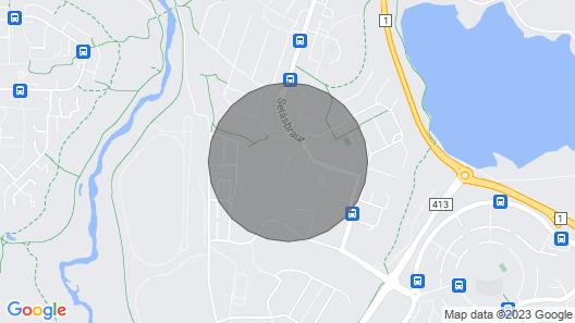 ART Apartment W/mountain View Map