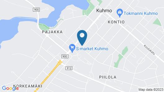 Matkakoti Kieppi Kuhmo Map