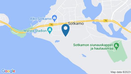 Hotel Tulikettu Map