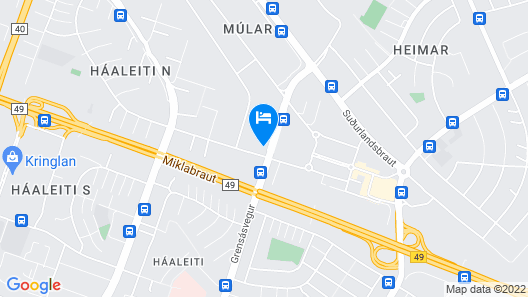 ODDSSON Hotel Map