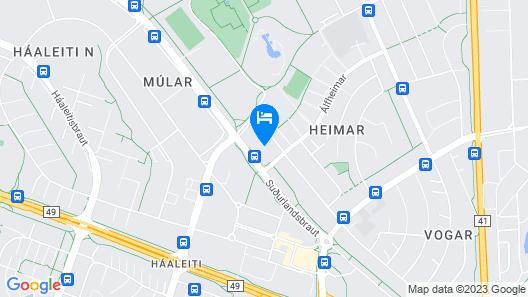 Sport Hostel Reykjavík Map
