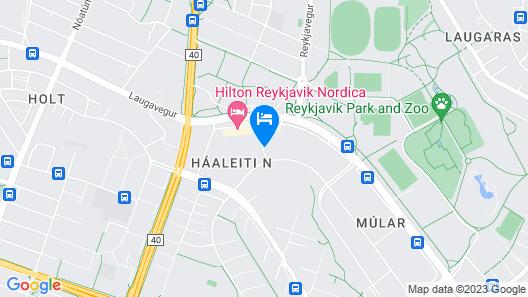 Hótel Múli Map