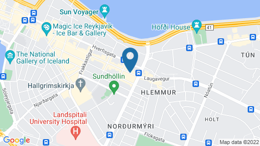 Apartment K Map