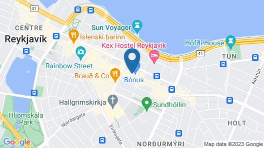 Von Guldsmeden Hotel Map
