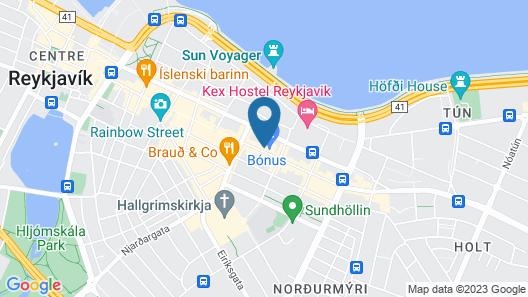 Hotel Von Map