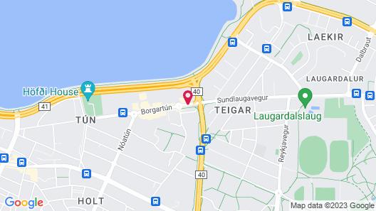 Hotel Cabin Map