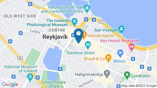 Þingholt by Center Hotels Map