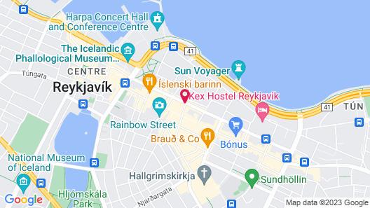 Center Hotels Klöpp  Map