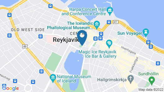 Kvosin Downtown Hotel Map