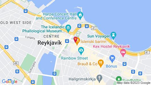 Canopy by Hilton Reykjavik City Centre Map