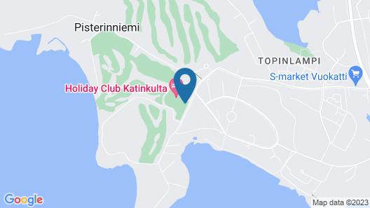 Holiday Club Katinkulta Apartments Map