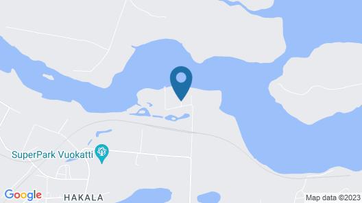Vuokatticottage Map