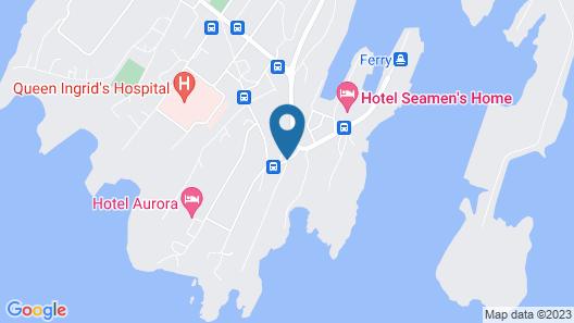 Nuuk City Hostel Map