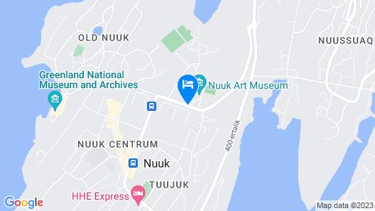 Kulukis Downtown Hostel Map