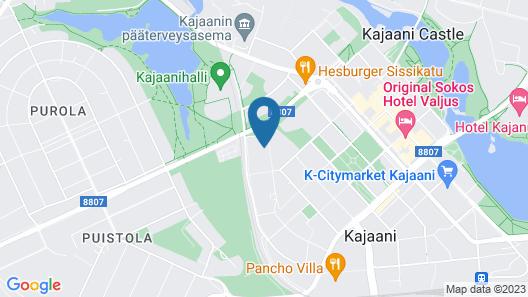 Kajaani Central Studio Map