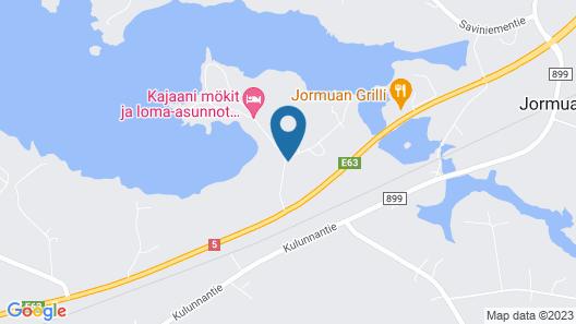 Kajaani Cottages Map