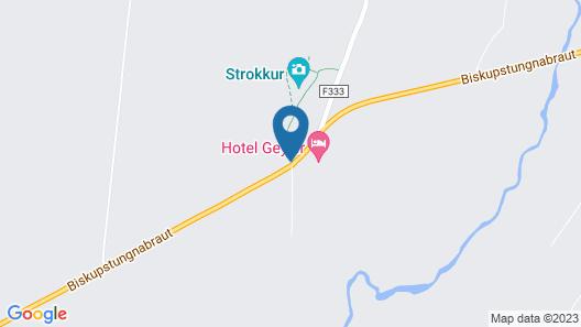 Hotel Geysir Map