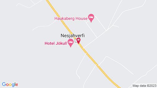 Hotel Jökull Map