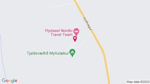 Myllulækur Map