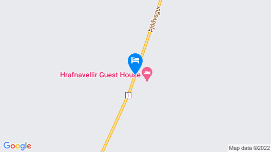 Hrafnavellir Guest House Map