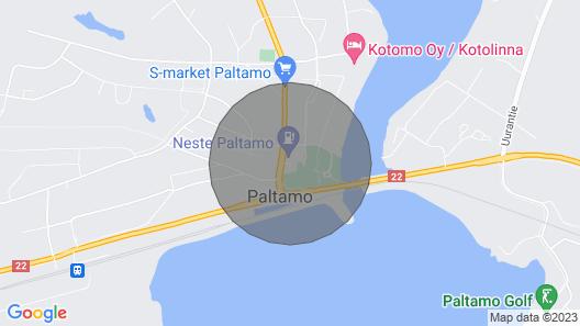 Huvila Ranta Rantasauna ja oma Ranta Map