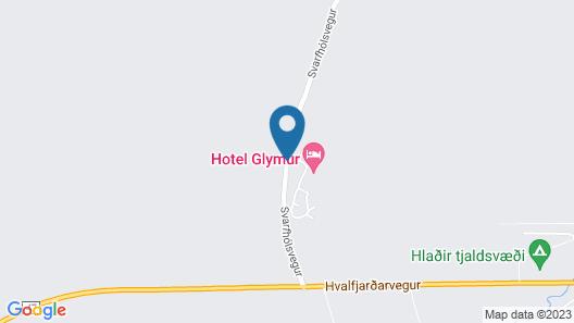 Hotel Glymur Map