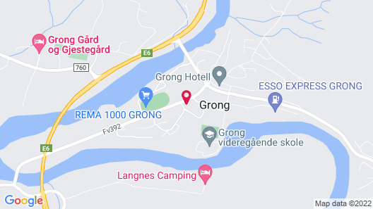 Grong Farm and Guesthouse Map