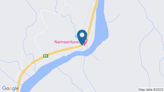 Namsentunet Map