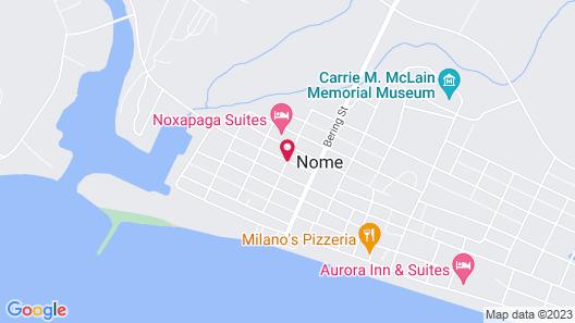 Noxapaga Suites Map