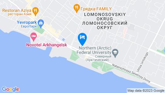 Severnitsa Map
