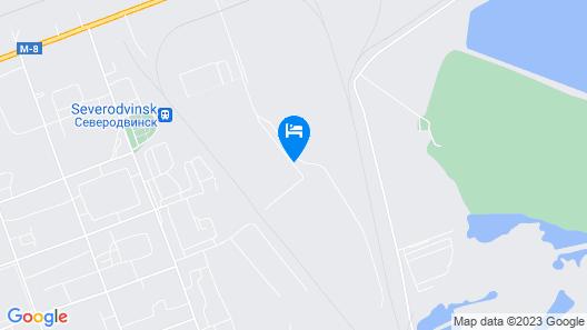 Nice hostel Severodvinsk Map