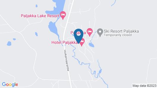 Hotel Paljakka Map