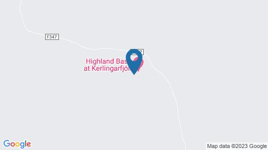 Kerlingarfjoll Mountain Resort Map