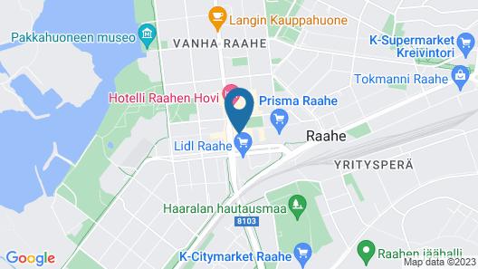 Forenom Aparthotel Raahe Map