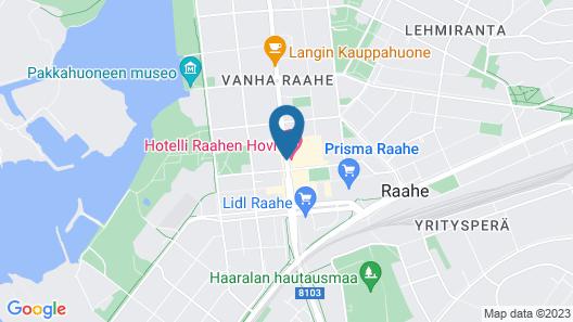 Hotel Raahen Hovi Map