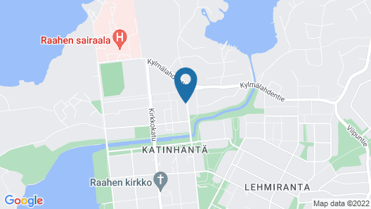 Two bedroom apartment in Raahe Map